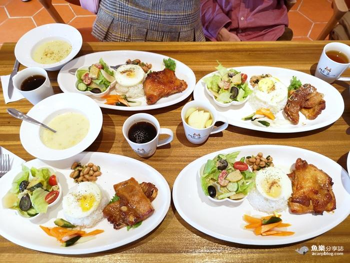 【臺中美食】貓門moment|地中海風網美餐廳|彩虹眷村對面 – 魚樂分享誌
