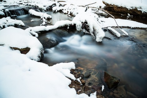 Small Icy Stream