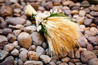 buquê de trigo