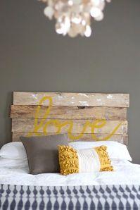 Perchè non una semplice asse di legno e la parola più romantica del mondo??