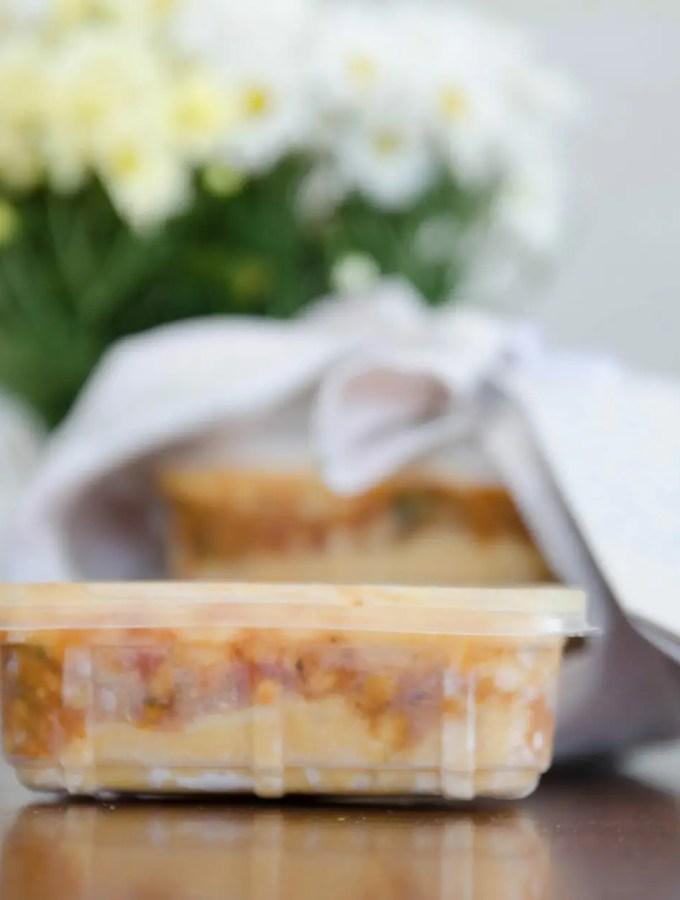 Escondidinho de batata doce – dicas de congelamento