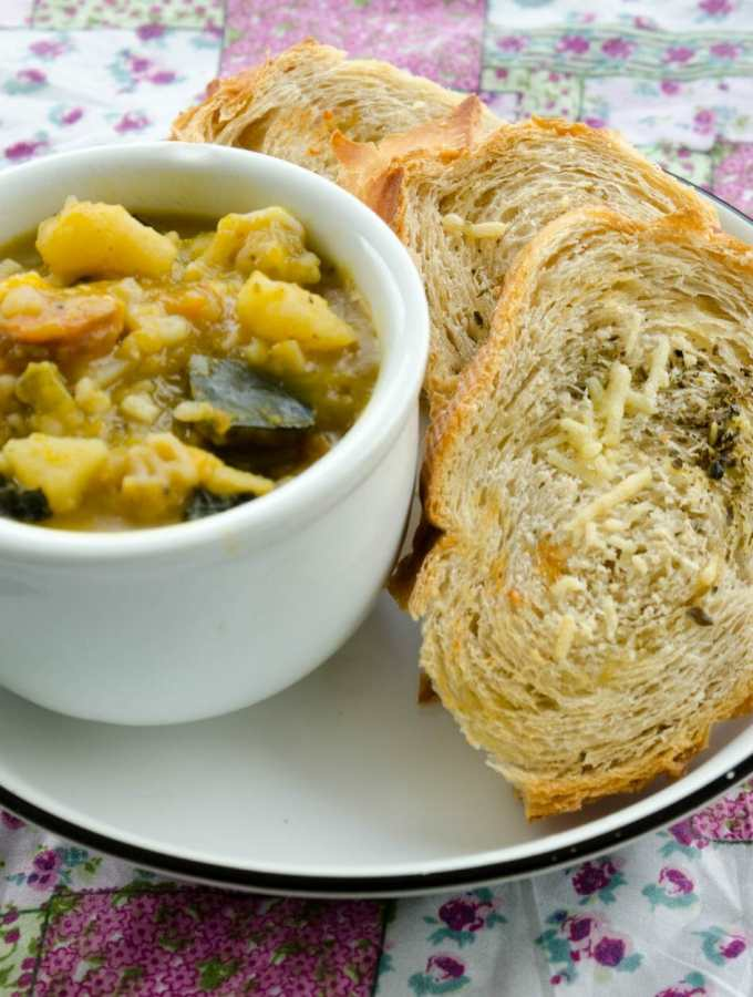 Torradas para sopa