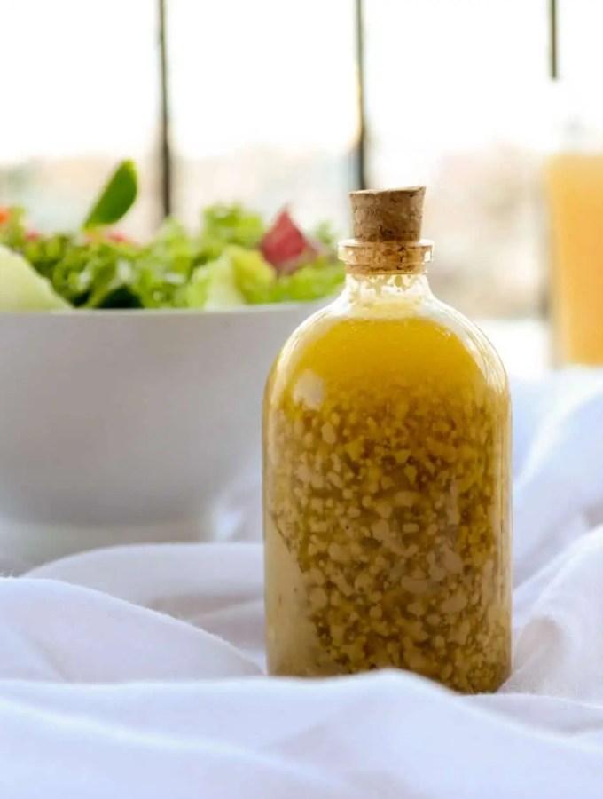 Molho de Mostarda e Mel para saladas