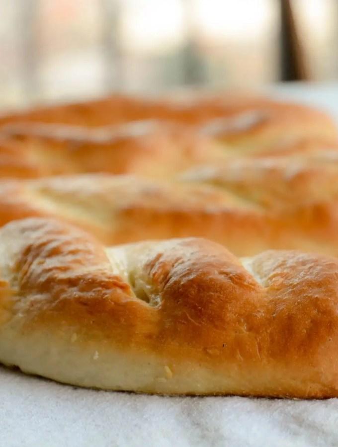Pão para sanduíche (tipo Subway)