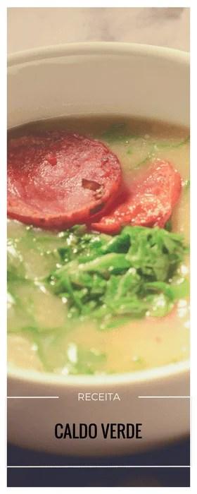 Receita de caldo verde tradicional