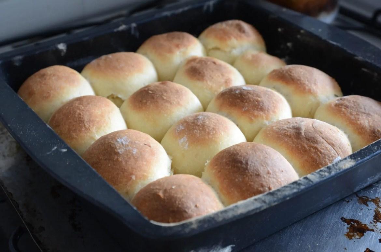 receita de pão de batata feito com fermento de garrafa