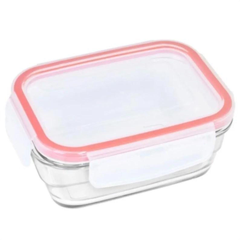 Recipiente de vidro ideal para armazenar no freezer alimentos solidos ou liquidos