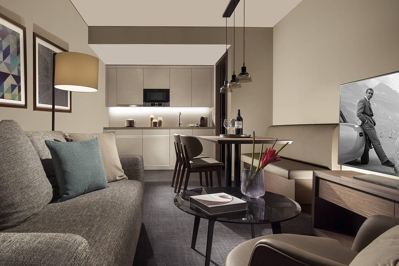 ACASA Suites Zrich Hotel Apartments Restaurant in