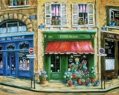 Paris in paintings Marilyn Dunlap