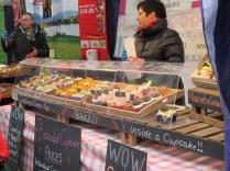 cupcakes - including rhubarb and custard