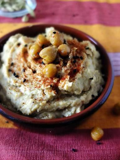 gerösteter Hummus