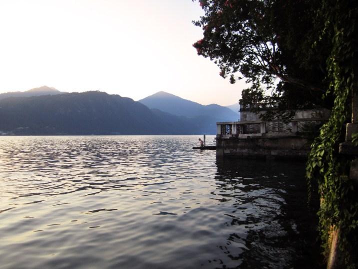 Abendstimmung am Ortasee