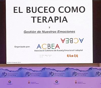 Ponencia – El Buceo como Terapia – por ACBEA