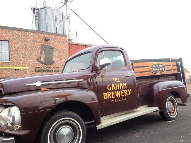 Vintage Gahan Truck