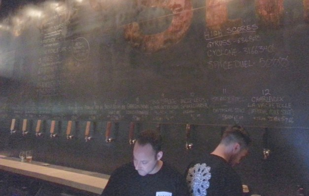 Twelve taps of great Maritime and Quebec beer