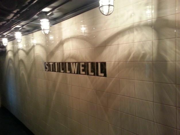 Subway station ambiance