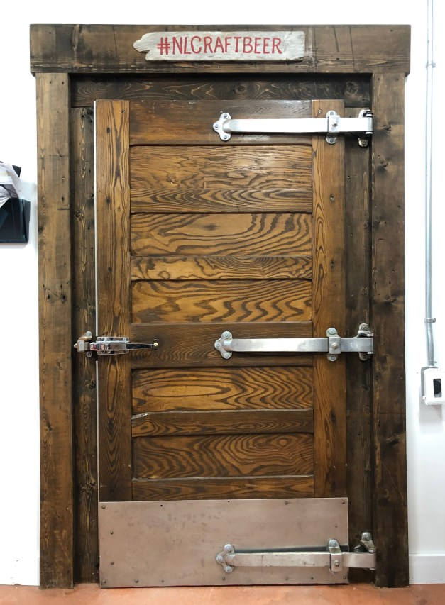 Coldroom door
