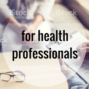 For health professionals - 300x300
