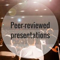 Peer-reviewed presentations