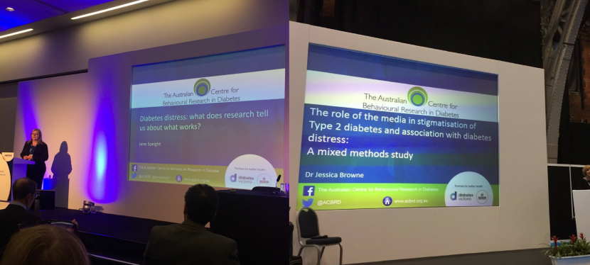 ACBRD well-represented at Diabetes UK