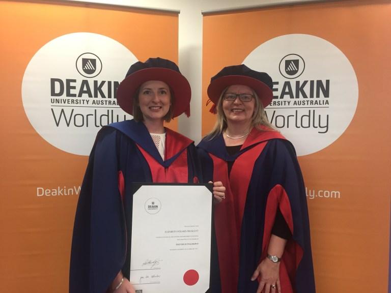 Graduation of Dr Elizabeth Holmes-Truscott, Deakin University 2017.JPG
