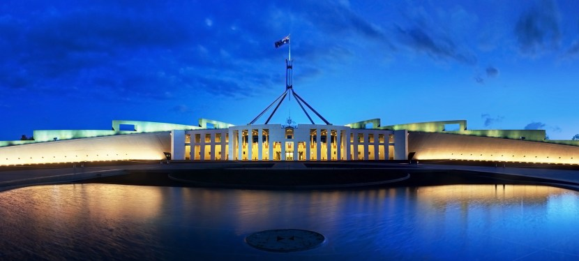 Prof Speight speaks about mental health at Parliament House, Canberra