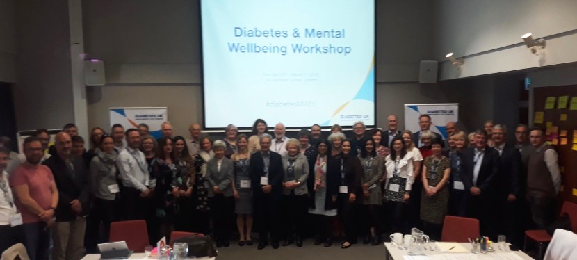 Diabetes UK Research Workshop on Mental Well-being: London, 28 Feb – 1 Mar 2019