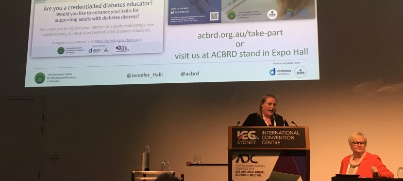 ACBRD has a strong presence at the 2019 Australasian Diabetes Congress: #19ADC