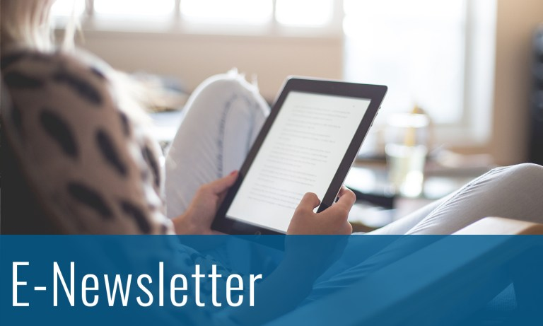 Click here to view our E-Newsletter page