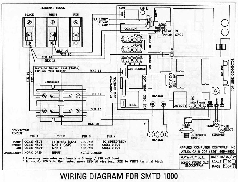 Spa Disconnect Panel Wiring Diagram Jacuzzi Tub Install