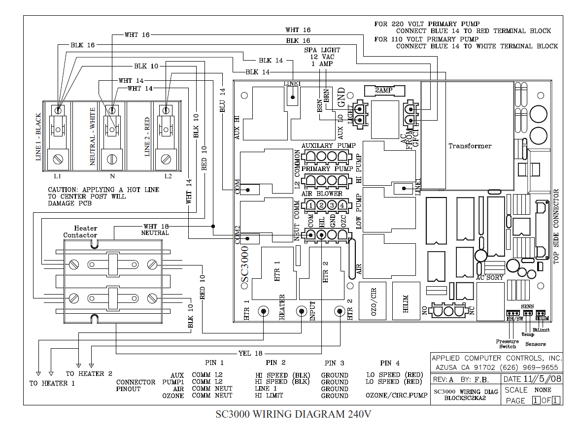 hight resolution of wiring diagrams u2013 acc spas u2013 applied computer controlsspa control wiring diagram 8