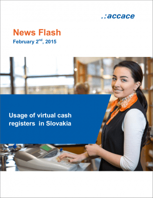 Usage of virtual cash registers in Slovakia