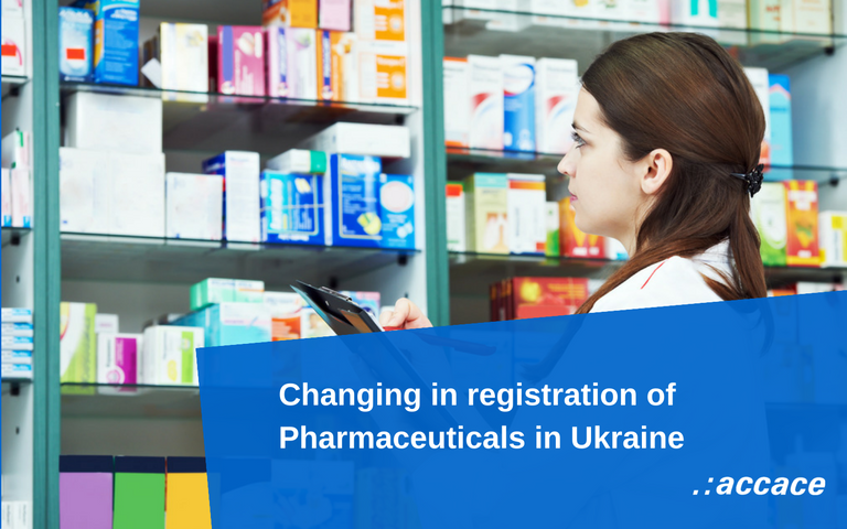 Changing in registration of Pharmaceuticals in Ukraine | News Flash