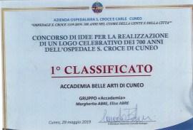 Attestati di merito per gli allievi ABA Cuneo – primo classificato