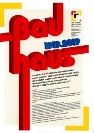 Locandina del Concorso Bauhaus 1919.2019
