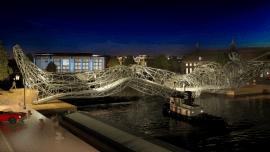 Progetto di ponte antropomorfo per Amsterdam – 2