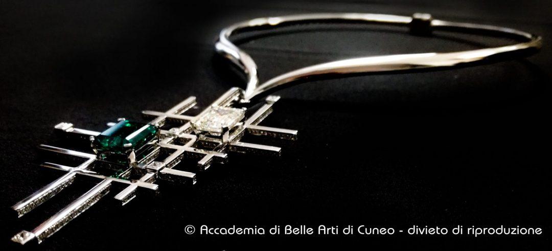 Athena - desigh di gioiello realizzato dagli studenti ABA Cuneo