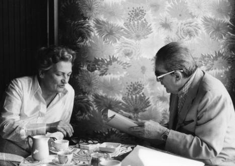 Suso Cecchi D'Amico e Luchino Visconti
