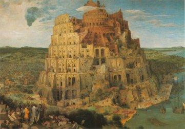 Big Babel Tower (1564) Pieter Bruegel (1526-1569 circa) Kunsthistorisches Museum Vienna