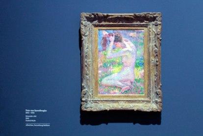 Théo van Rysselberghe - Seated Nude, 1905