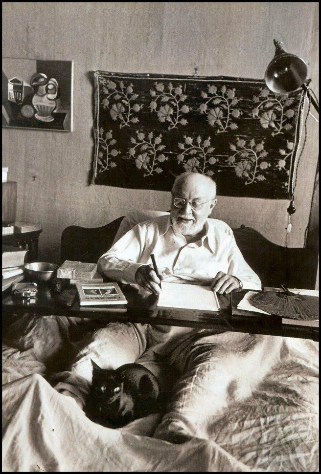 Matisse ritratto da Robert Capa nel 1942