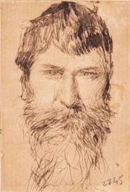 Autoritratto, matita, GDS 2745