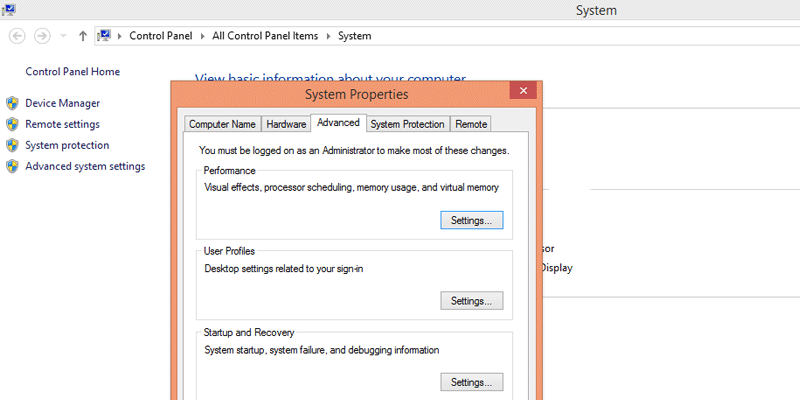 Windows settings to speed up your computer