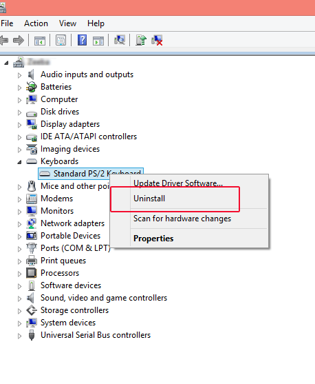 To fix your Laptop keyboard you can install in device manager