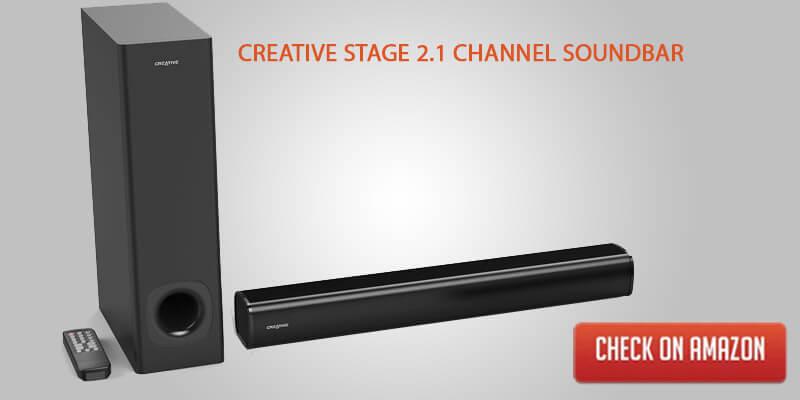 Creative stage 2.1 Channel soundbar