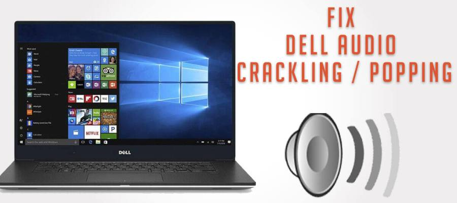 Dell XPS 13 laptop and sound icon