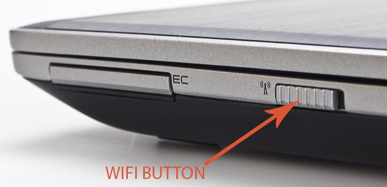 Dell Latitude WiFi button