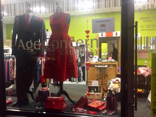 Shop front - Love is in the Air!