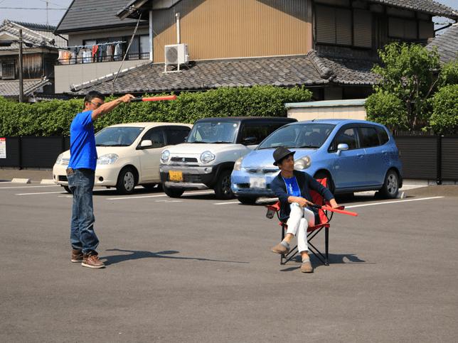 第1駐車場   青空バル+クラフト チャリティします!