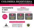 Colombia Biodiversa Convocatoria II-2021